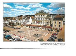 28 NOGENT LE ROTROU Cpm Place De L'Hotel De Ville - Nogent Le Rotrou