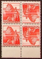 Schweiz Suisse 1939: Kehrdruck Tête-bêche  Zu+Mi K35z Geriffelt Grillé */** MNH+MLH (Zu CHF 7..50) - Tete Beche