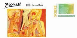 Spain 2013 - Picasso Collection Prepaid Cover - 1930 - La Crucifixion - Enteros Postales