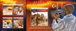 Salomon 2015, Islam, Pelgrinage In Mecca, 4val In BF +BF - Kiribati (1979-...)