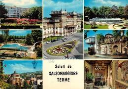 Cartolina Salsomaggiore Terme Vedute 1973 - Parma