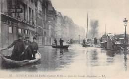 75 - PARIS 06° - INONDATIONS De PARIS ( Janvier 1910 ) Quai Des Grands Augustins - CPA - Seine - De Overstroming Van 1910