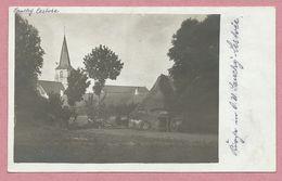 62 - SAUCHY - LESTREE - Carte Photo Allemande - Eglise - Vue Générale - Guerre 14/18 - France
