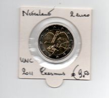 NEDERLAND 2 EURO 2011 ERASMUS UNC. - Pays-Bas
