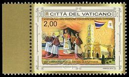 Vaticano / Vatican 2014: Sinodo Di Ayutthaya (cong. Thailandia) / Ayutthaya Synod (joint Issue With Thailand) ** - Emissions Communes
