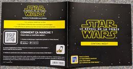 """France, 2015, Collector - Star Wars """"The Force Awakens"""", 1v, MNH - Collectors"""