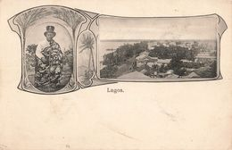 Nigéria Lagos Cpa Carte Ancienne - Nigeria