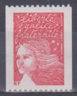 Année 2001 - N° 3418 - Marianne De Luquet - Avec Mention RF - Sans Valeur Indiquée Provenant De Roulette - 1997-04 Marianne Of July 14th