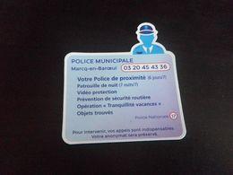 Magnet POLICE - MARCQ EN BAROEUL - Magnets