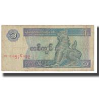 Billet, Myanmar, 1 Kyat, KM:69, TB - Myanmar