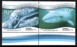 Mexique Mexico 2657/58 Baleine, Korea - Ballenas
