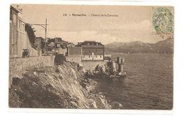 Marseille-Chemin De La Corniche. Nancy édition No 156.Bon état. Coins Arrondis Voir Scan. - Endoume, Roucas, Corniche, Stranden