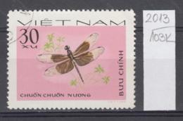 103K2013 / 1977 - Michel Nr. 893 Used ( O ) Neurothemis Tullia - Dragonflies , Vietnam Viet Nam - Viêt-Nam