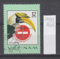 103K2030 / 1977 - Michel Nr. 898 Used ( O ) Great Hornbill (Buceros Bicornis)  - Rare Birds , Vietnam Viet Nam - Viêt-Nam