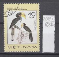 103K2035 / 1977 - Michel Nr. 902 Used ( O ) Anthracoceros Albirostris - Rare Birds , Vietnam Viet Nam - Viêt-Nam
