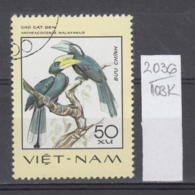 103K2036 / 1977 - Michel Nr. 903 Used ( O ) Anthracoceros Malayanus - Rare Birds , Vietnam Viet Nam - Viêt-Nam
