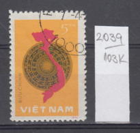 103K2039 / 1977 - Michel Nr. 907 Used ( O ) 1st Anniversary Of National Assembly General Election , Vietnam Viet Nam - Viêt-Nam