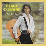 Disque Vinyle 45 Tours : COSTA CORDALIS :  ANITA..Scan A  : Voir 2 Scans - Vinyl-Schallplatten