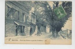 MANTES - Porte Aux Prêtres Et Quai Des Cordeliers - Mantes La Jolie