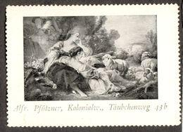 """Leipzig 1913 """" Alfred Pfützner Kolonialwaren Täubchenweg 43b """" Vignette Cinderella Reklamemarke - Cinderellas"""