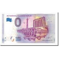 Allemagne, Billet Touristique - 0 Euro, Germany - Berlin - Motorworld Classics - Allemagne