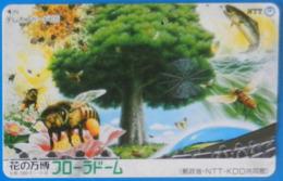 Japan Japon Bee Fish Tree Fauna Nature Wildlife Plant Flora - Phonecards