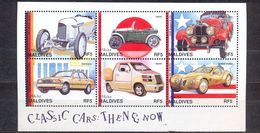 MALDIVES - MNH - CARS - MI.NO.KLB 2823/8 - CV = 6 € - Maldives (1965-...)