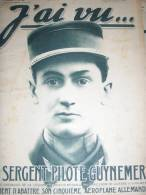 GUYNEMER/ NIJINSKY /ARMEE NOIRE GENERAL ARCHINARD LE HAVRE/J AI VU - Audio Books