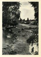 Carte 2 Volets. Photo Noir Et Blanc Papier Brillant. Ile Brise-Pain, Créteil, 1956, Par Willy Ronis. - Vieux Papiers