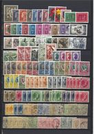 Luxembourg: 1 Lot De 126 Timbres Divers **/*/oblit - Collections