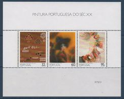 PORT Peinture Portugaise Du XXème Siècle  BF N°71   ** MNH - Hojas Bloque