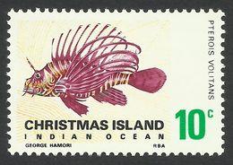 Christmas Island, 10 C. 1968, Sc # 28, Mi # 28, MH. - Christmas Island
