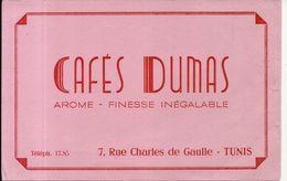 CAFE DUMAS . TUNIS - Koffie En Thee