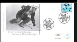 Switzerland FDC 2006 Torino Olympic Games  (NB**LAR9-134B) - Winter 2006: Torino