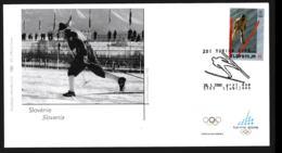 Slovenia FDC 2006 Torino Olympic Games  (NB**LAR9-134B) - Winter 2006: Torino
