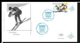 Slovakia FDC 2006 Torino Olympic Games  (NB**LAR9-134B) - Winter 2006: Torino