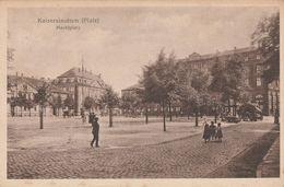 Kaiserslautern - Marktplatz - Scan Recto-verso - Kaiserslautern
