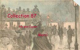 ☺♦♦ OMNIBUS < HIPPOMOBILE Par HENRI BOUTET < TRANSPORT à PARIS  ART NOUVEAU - Cartes Postales