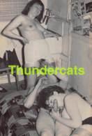 ANCIENNE PHOTO ANNEES 60 FEMME HOMME COUPLE NU NUE EROTIQUE VINTAGE NUDE MALE FEMALE 1960'S PHOTO FOTO EROTIC 13 X 9 - Beauté Féminine (1941-1960)