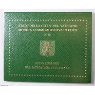 VATICAN EURO - Coffret 2 Euro 2018 Commemorative BU PATIMOINE CULTUREL - Vaticaanstad