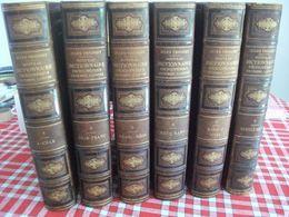 Jules Trousset Nouveau Dictionnaire Encyclopédique Complet 6 Volumes Encyclopédie Carte Géographique Département France - Encyclopedieën
