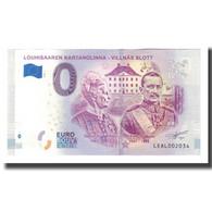 Finlande, Billet Touristique - 0 Euro, Finland - Louhisaari - Manoir - Baron - Jetons & Médailles