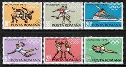 ROMANIA  Scott # 2321-6 VF USED (Stamp Scan # 687) - 1948-.... Republiken