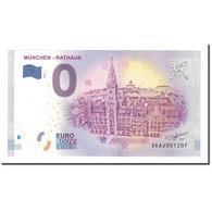 Allemagne, Billet Touristique - 0 Euro, Germany - München - Rathaus - Nouvel - Allemagne