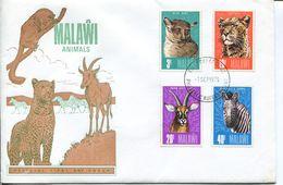 Malawi Mi# 250-3 Used On FDC - Fauna - Malawi (1964-...)