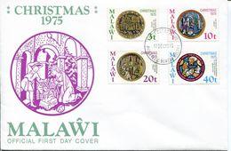 Malawi Mi# 255-8 Used On FDC - Christmas - Malawi (1964-...)