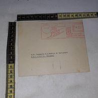 FB1795 AFFRANCATURA MECCANICA ROSSA FIAT 1500 FIAT 500 TORINO 1937 - Poststempel - Freistempel
