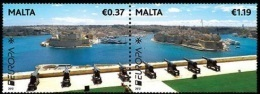 CEPT / Europa 2012 Malte N° 1652 & 1653 ** Tourisme - 2012