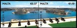 CEPT / Europa 2012 Malte N° 1652 & 1653 ** Tourisme - Europa-CEPT