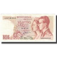 Billet, Belgique, 50 Francs, 1966, 1966-05-16, KM:139, TTB - Belgio